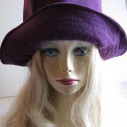Purple Suede Hat